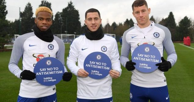 Chelsea Football Club launches campaign to raise awareness about anti-Semitism