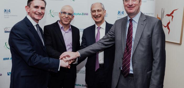 Dangoor health initiative brings innovation of Israeli start-ups to British healthcare