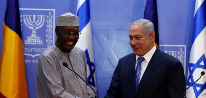 Israeli PM Netanyahu in Chad to announce resumption of diplomatic relations with the African Muslim-majority country