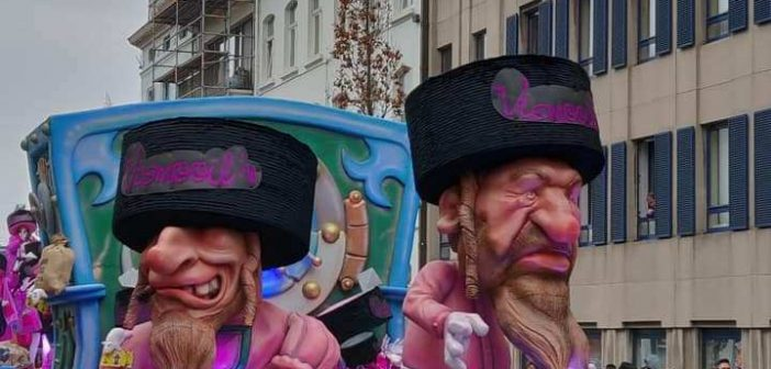 Will the Aalst Carnival be removed from UNESCO's Intangible Heritage Lists for displaying anti-Semitic float ?