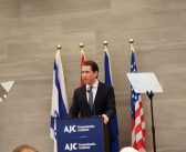 In Brussels, Austria's Chancellor Kurz makes vibrant plea for strengthening EU-Israel relations and Jewish life in Europe