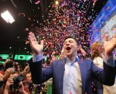 Landslide victory for Jewish comedian in Ukrainian presidential elections