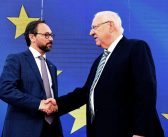 Israeli President Rivlin on Israel's ties with the EU: 'Political considerations should not stand in the way of cooperation'