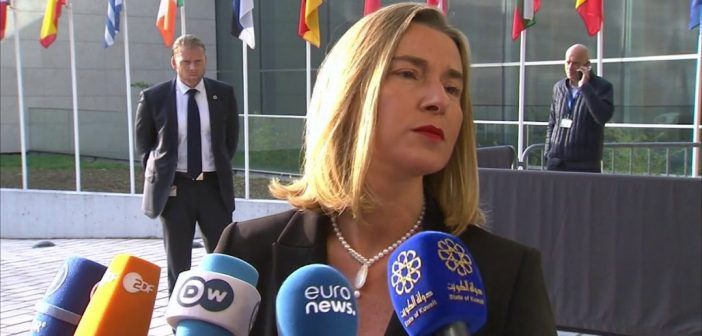 EU foreign policy chief Mogherini : EU's policy on Israeli settlements is 'unchanged'