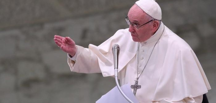 Pope Francis denounces anti-Semitism, 'This is neither human nor Christian,' he said