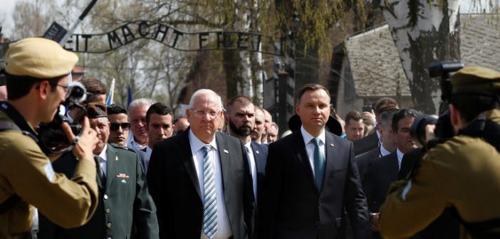 A Polish-Russian row over commemoration of the Holocaust