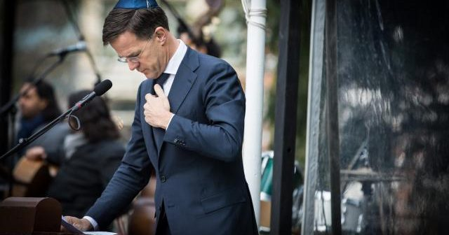 On Holocaust Memorial Day, Dutch PM apologises for the country's government role during WWII