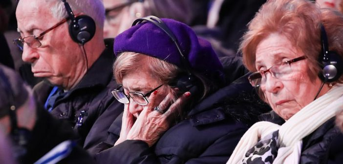 Marking the75th anniversary of the liberation of Auschwitz-Birkenau, World Jewish Congress President addressed more than 200 survivors, delegates from more than 50 countries and political leaders