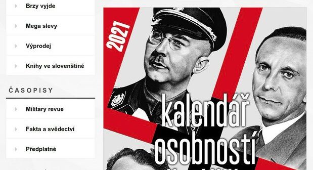 Storm in the Czech Republic over the publication and sale of calendar featuring leading Nazi figures
