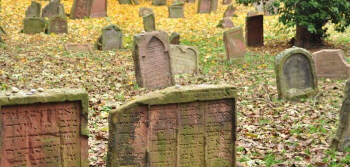 Dozens of Jewish graves and tombstones desecrated in the Jewish cemetery in Worms, one of the oldest in Europe