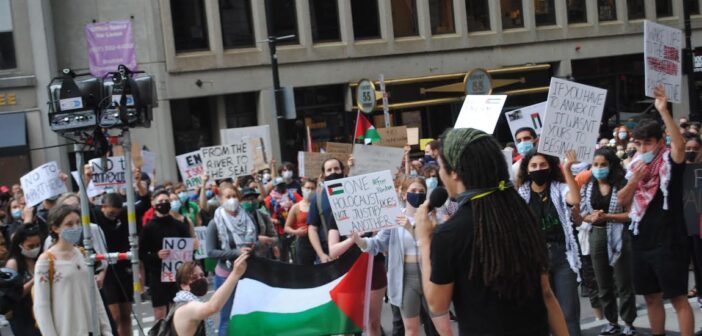 'Day of Rage' protesters in Boston chant anti-Israel, pro-Hamas slogans, call for intifada