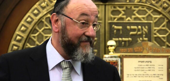 UK's Chief Rabbi warns Jewish community to strictly follow government guidelines on High Holidays