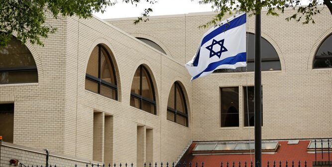 Israel places its embassies around the world on heightened security alert following the killing of Iran's top nuclear scientist
