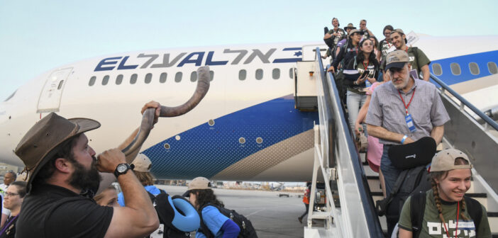 North American immigration to Israel spikes after 'year of COVID'