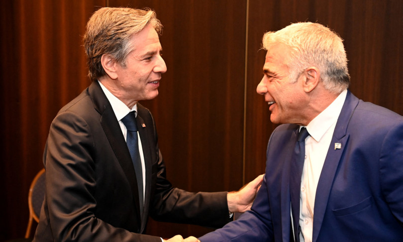 In Rome, Lapid told Blinken that Israel has 'reservations' about Washington's desire to rejoin the nuclear deal with Iran - EJP