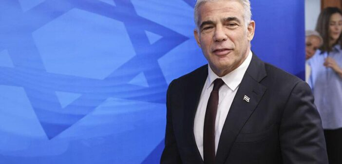 Israeli FM Yair Lapid aims to 'reinvigorate' Israel's ties with Democrats, US liberal group