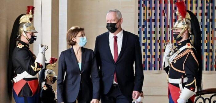 Israel's Defense Minister Gantz in Paris: Israeli cybersecurity firm didn't hack President Macron's phone