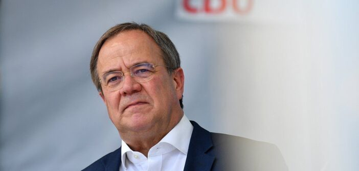 German conservatives raise spectre of far-left rule ahead of Sunday's election