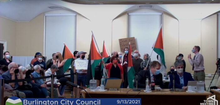 BDS resolution withdrawn at Burlington city council meeting after community rallies against it