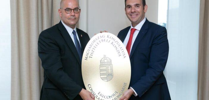 Orthodox Jew inaugurated as honorary consul of new Hungarian consulate in Antwerp